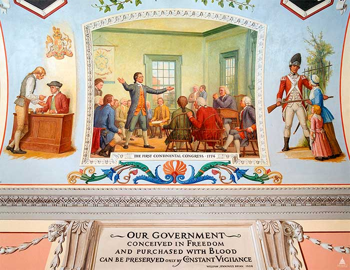 The First Continental Congress,_1774
