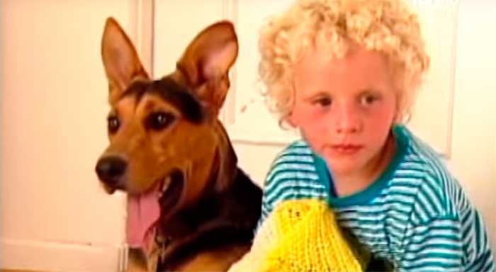 They Had No Idea That A Dog Would Get This Little Boy To Talk