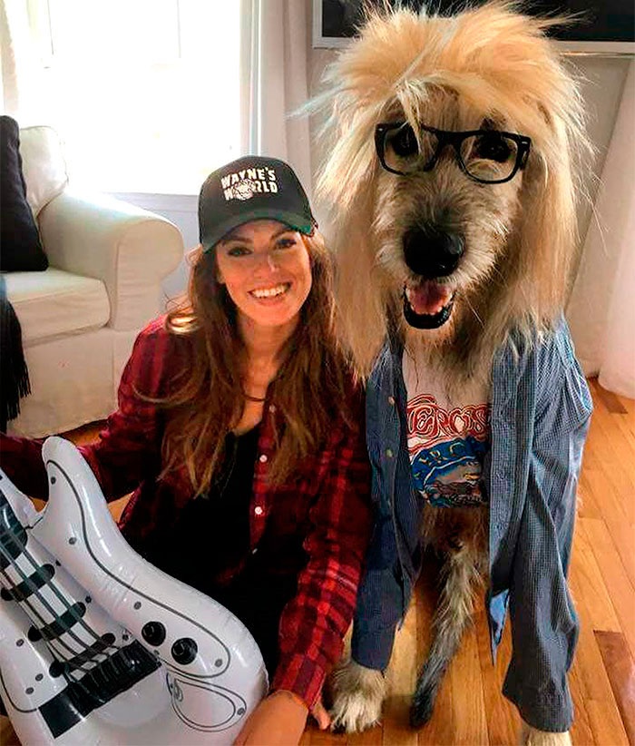 Unrivaled! This Year's Halloween Award Goes To This Woman And Her Dog