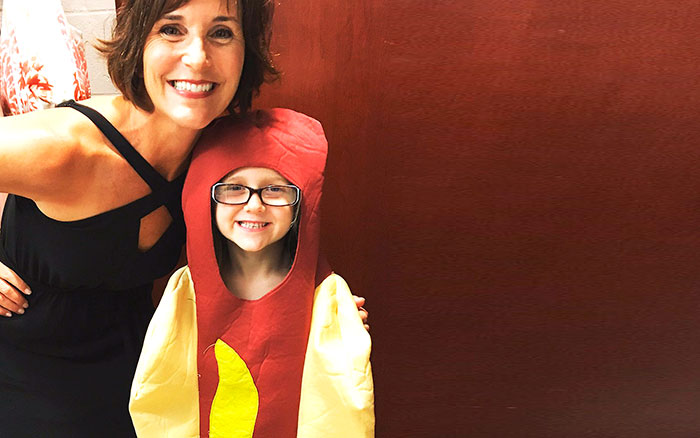5 Year Old Hero In Hot Dog Costume Is The Ultimate Princess