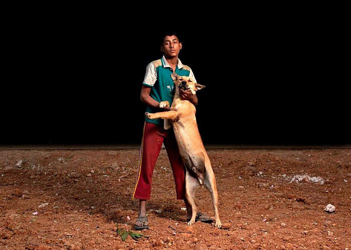 Dog and orphan